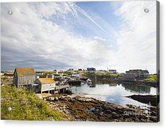 Peggys Cove Nova Scotia Acrylic Print