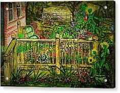 Peggy's Paradise Acrylic Print