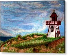 Pei Lighthouse Acrylic Print
