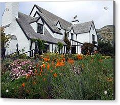 Pelican Inn Garden Acrylic Print