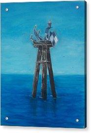 Pelican Landing II Acrylic Print
