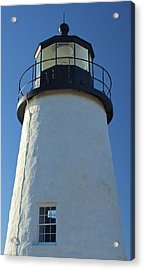 Acrylic Print featuring the photograph Pemaquid Lighthouse by Amazing Jules