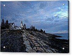 Pemaquid Lighthouse Acrylic Print by Melissa C