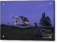Pemaquid Point Light - Blue Hour Acrylic Print