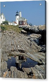Pemaquid Point Light Acrylic Print by ELDavis Photography