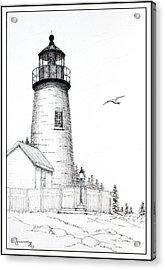 Pemaquid Point Lighthouse Acrylic Print
