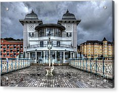 Penarth Pier Pavilion 2 Acrylic Print by Steve Purnell
