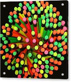 Pencil Blossom Acrylic Print