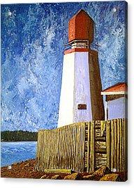 Pendlebury Lighthouse Acrylic Print