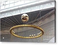 Pendulum Sways Acrylic Print by David Bearden