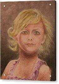 Penelope Acrylic Print by Stephen King