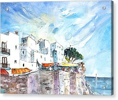 Peniscola Old Town 02 Acrylic Print by Miki De Goodaboom