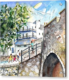 Peniscola Old Town 03 Acrylic Print by Miki De Goodaboom