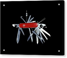 Penknife Acrylic Print by Science Photo Library