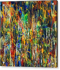 Acrylic Print featuring the painting Penman Original - Untitled 98 by Andrew Penman