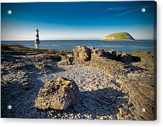 Penmon Lighthouse And Puffin Island Acrylic Print