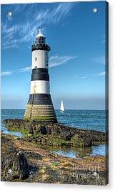 Penmon Point Sailing Acrylic Print