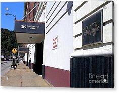 Penn Traffic Bldg - Johnstown Pa Acrylic Print