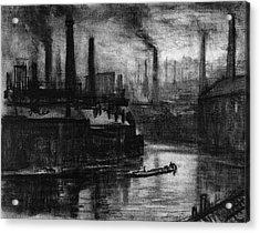 Pennell London, 1908 Acrylic Print