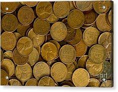 Pennies Acrylic Print