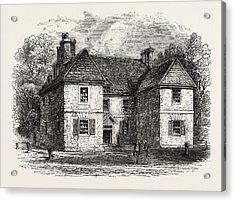 Penns House, Philadelphia, United States Of America Acrylic Print by American School