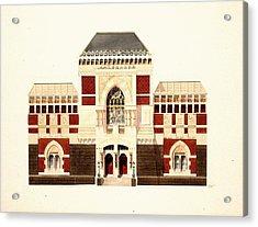 Pennsylvania Academy Of Fine Art Acrylic Print