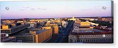 Pennsylvania Ave Washington Dc Acrylic Print by Panoramic Images