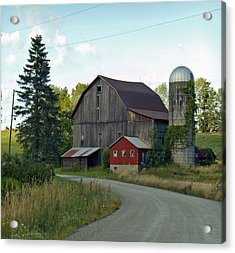 Pennsylvania Barn Acrylic Print by Christine Lathrop