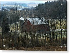 Pennsylvania Barn Acrylic Print