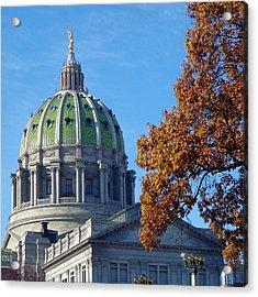 Pennsylvania Capitol Building Acrylic Print