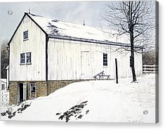 Pennsylvania Dutch Acrylic Print by Tom Wooldridge