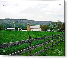 Pennsylvania Farm Acrylic Print