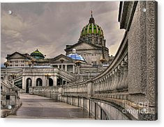 Pennsylvania State Capital Acrylic Print