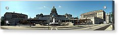 Pennsylvania State Capitol Panorama Acrylic Print