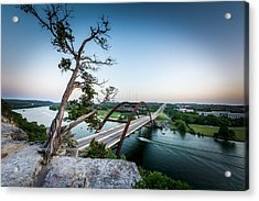Pennybacker Bridge Austin Acrylic Print