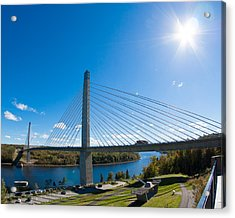 Penobscot Narrows Bridge - Maine Acrylic Print
