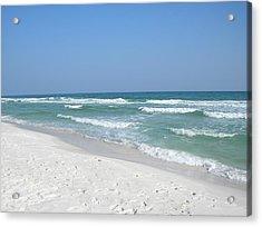 Acrylic Print featuring the photograph Pensacola Beach by Alan Lakin