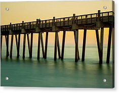 Pensacola Beach Fishing Pier Acrylic Print