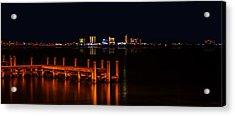 Pensacola Beach Reflections Acrylic Print