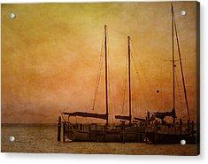 Pensacola Harbor Acrylic Print