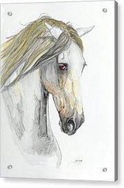 Pensador Acrylic Print by Janina  Suuronen