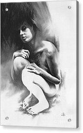 Pensive Acrylic Print