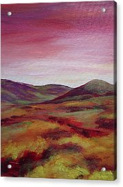 Pentland Hills Scotland Acrylic Print