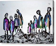 People 120913-3 Acrylic Print by Aquira Kusume