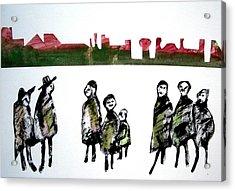 People 120913-5 Acrylic Print by Aquira Kusume