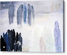 People Come And They Go Acrylic Print by Bruce Combs - REACH BEYOND