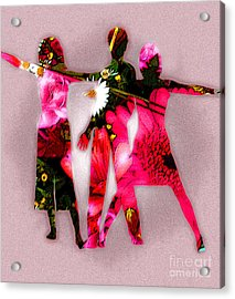 People Fashion Acrylic Print