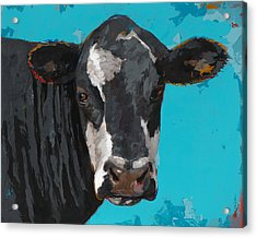 People Like Cows #8 Acrylic Print by David Palmer