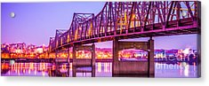 Peoria Illinois Bridge Panorama Photo Acrylic Print