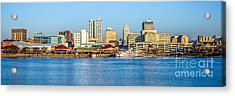 Peoria Panoramic Picture Acrylic Print